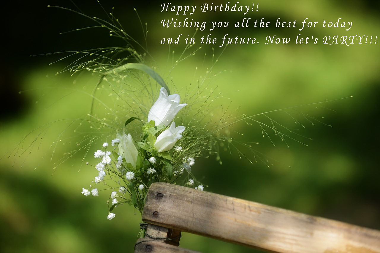 birthday flower card quotes