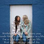 Wishing you Happy Birthday Friends