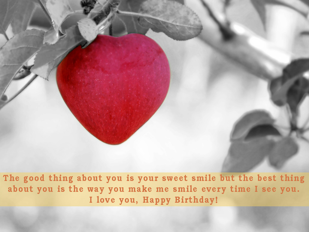 Happy Birthday Message For Boyfriend Long Distance ~ The long distance romantic birthday wishes for your girlfriend
