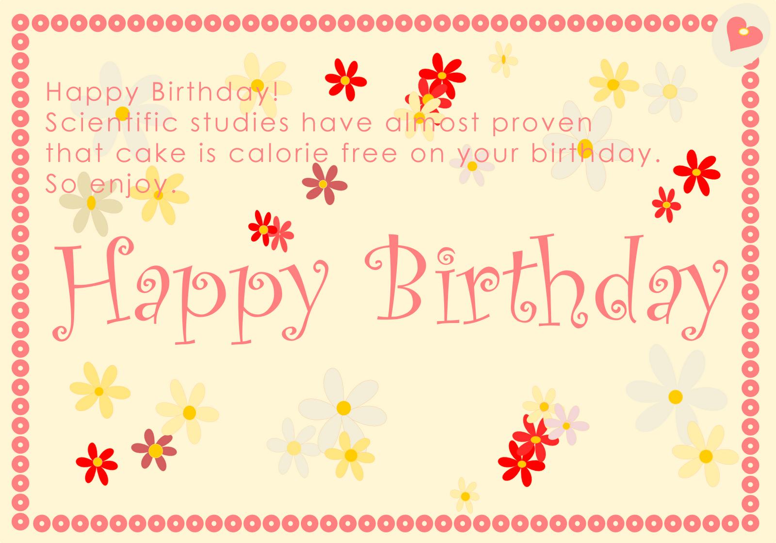 15 Best Birthday Card Messages and Wishes 1Birthday Greetings – Birthday Cards Pics Free