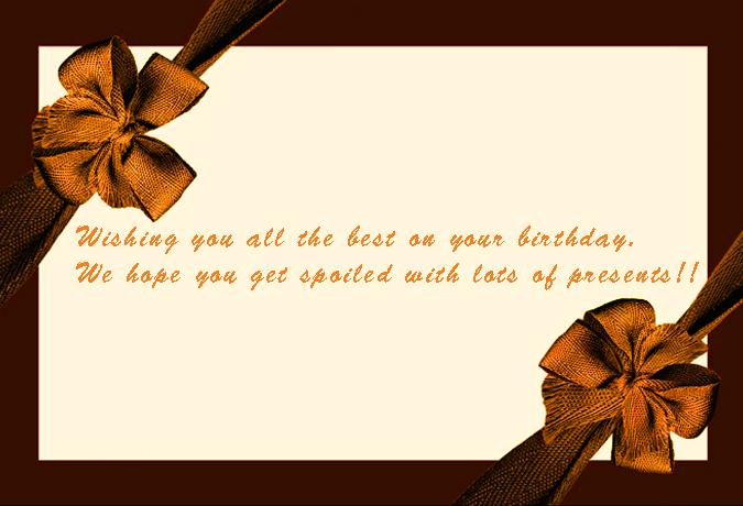 birthday card banner