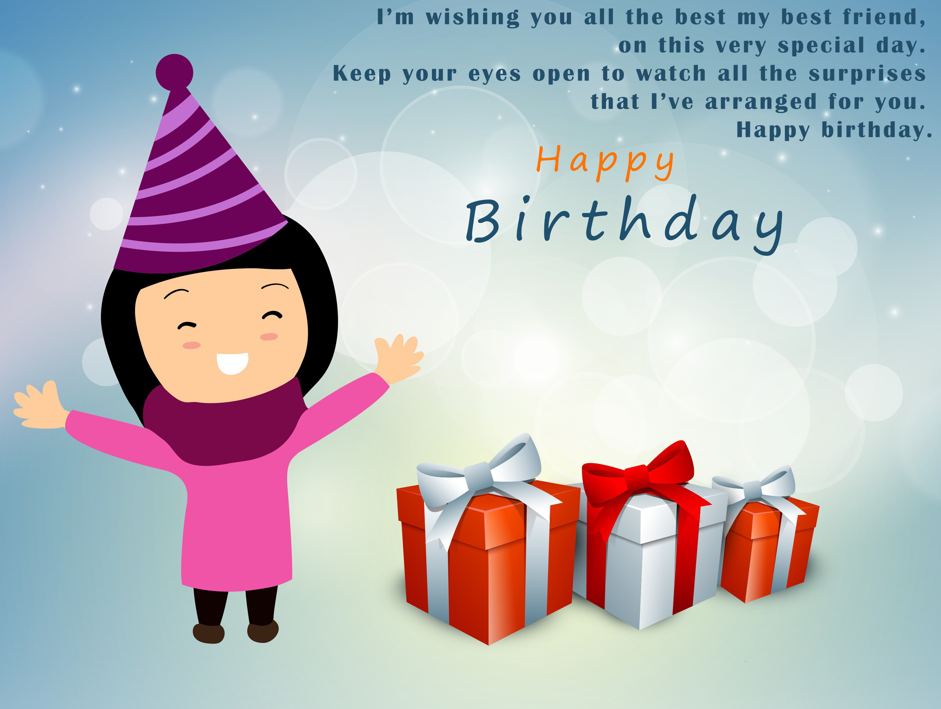 The 15 Best Birthday Wishes Friend - 1Birthday Greetings
