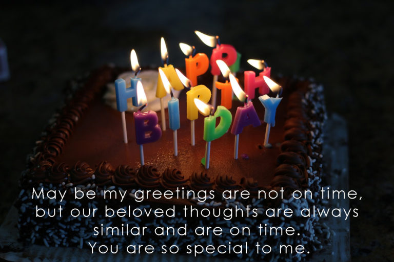 Best Belated Birthday Wishes