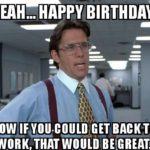 Birthday greetings Meme
