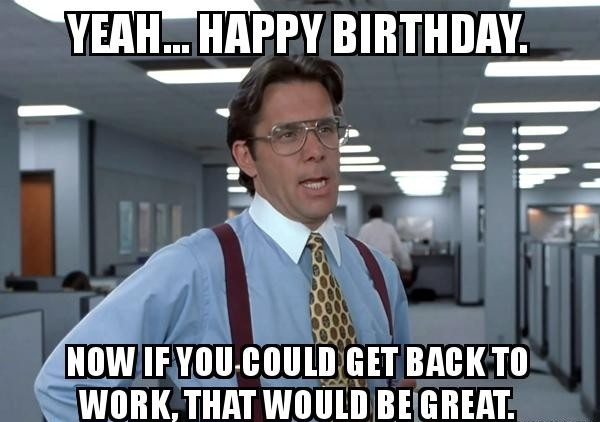 Birthday greetings Meme