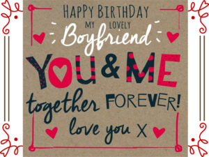 Birthday Wishes for Boyfriend Images