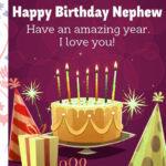 Birthday cakes for Nephew