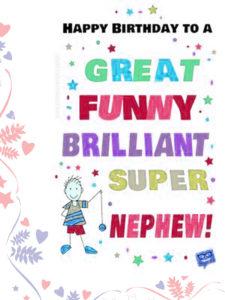 Happy Birthday Wishes for Nephews
