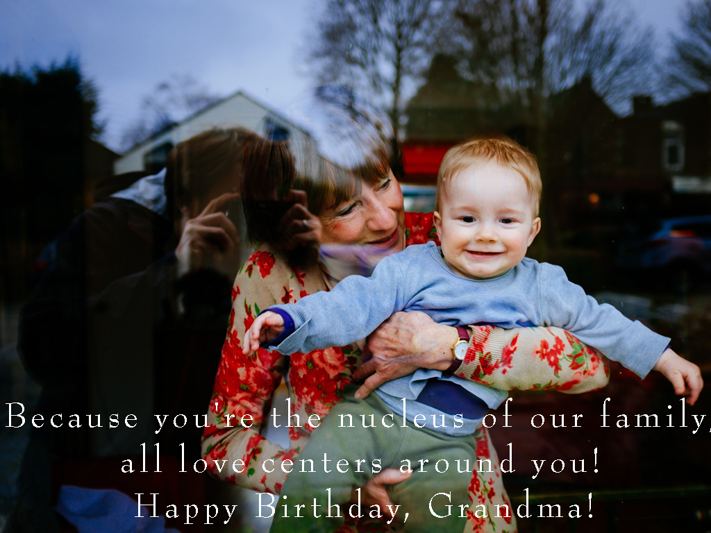 Happy Birthday Grandma Message
