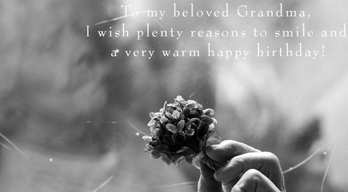 Happy Birthday Grandma Sayings