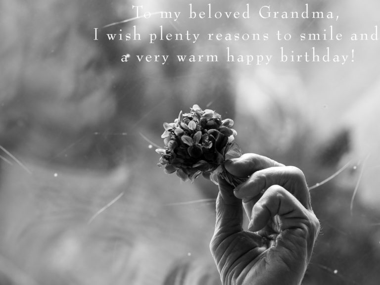 Happy Grandma Birthday Wishes, Quotes and Poems