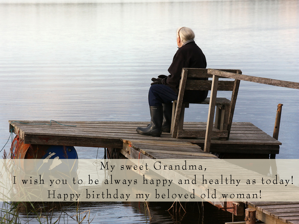 Happy Birthday Grandmother Greetings