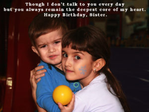 Birthday Wishes Cute Sister