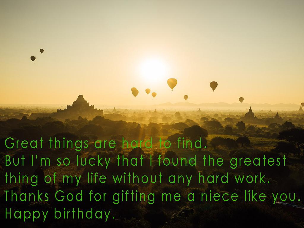 Happy Birthday Quotes For Niece