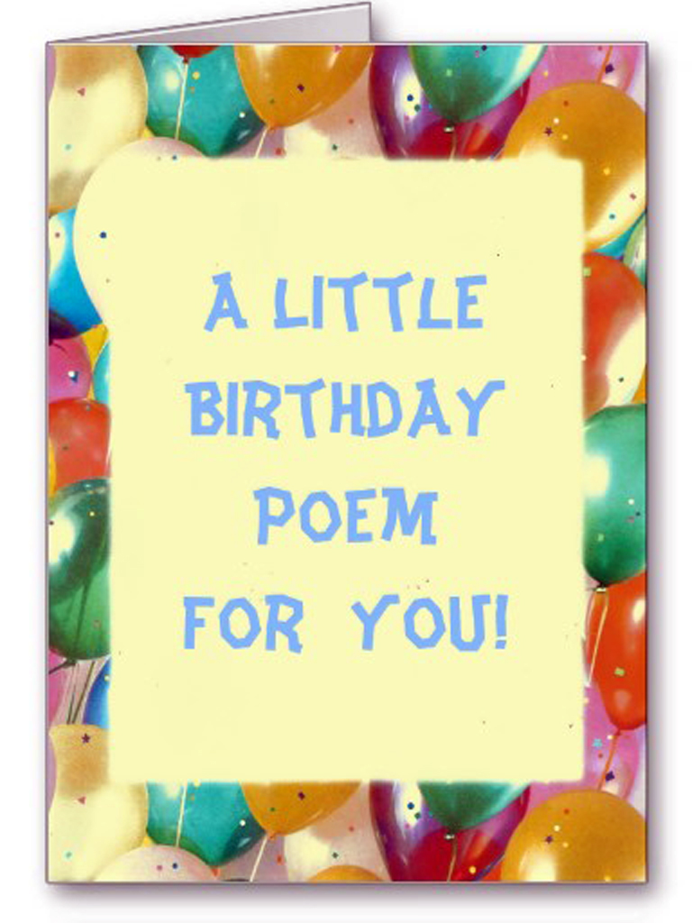 Funny Birthday Poems