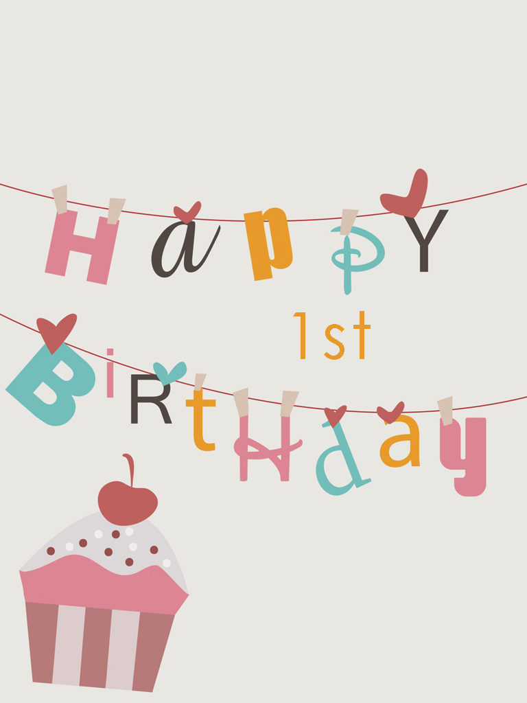 Happy 1st Birthday Wishes for baby boy