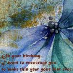 Best Inspirational Birthday Wishes