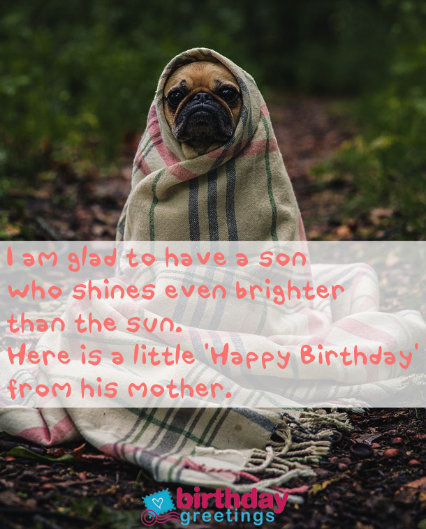 what to say to a son on his birthday