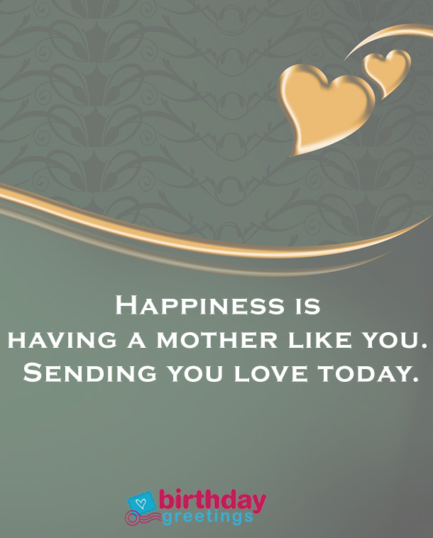 happy birthday mom status