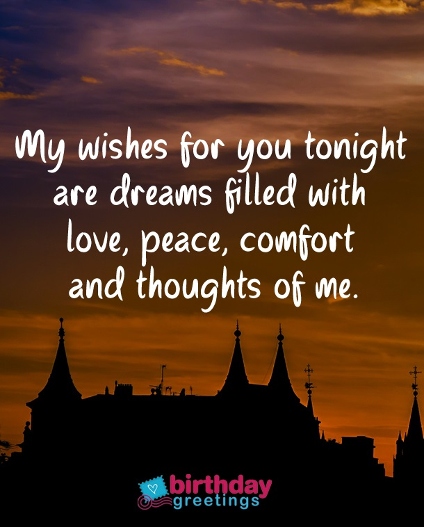99 Sweet Good Night Message For My Love Long Distance