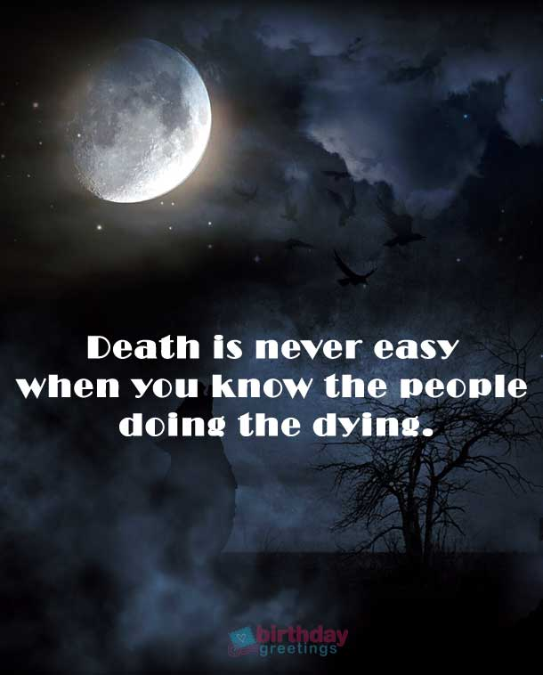 short quotes about death