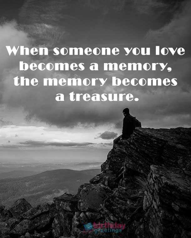 In Memory Of A Loved One Quotes Beauteous 61 Inspirational Quotes About  Death Of A Loved