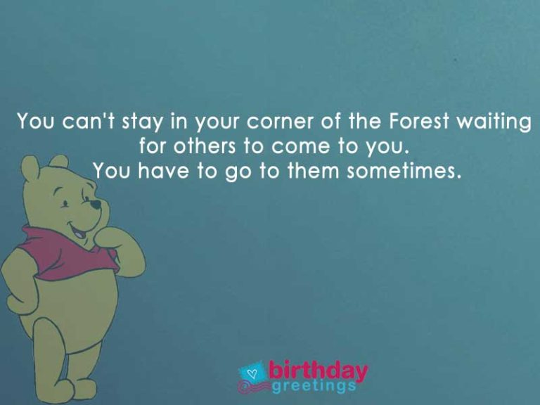 Heartfelt Winnie The Pooh Quotes About Life For Cherishing You