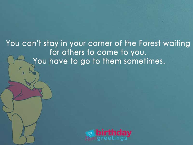 Winnie The Pooh Quotes About Life